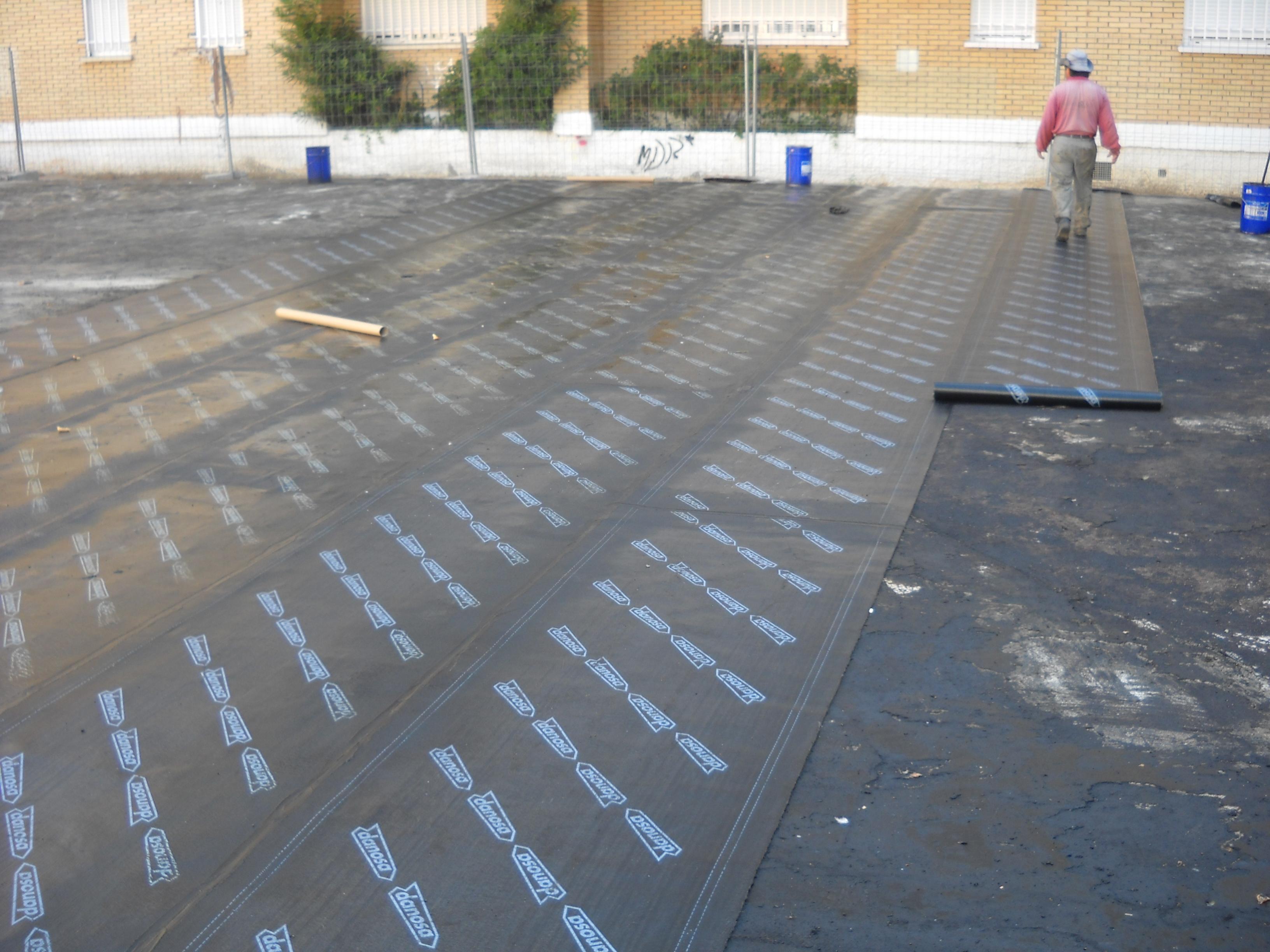 Reforma de cubiertas rehabilitaciones umavial - Tela asfaltica para tejados ...