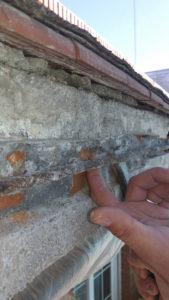 sustitución de tubos de barandilla
