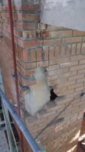 reparación de frentes de terraza