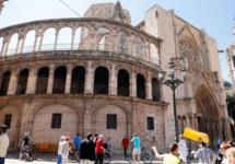 Plagas de termitas en la estructura de madera de la Catedral de Valencia