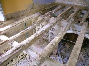 rehabilitacion edificios estructuras de madera