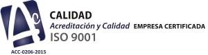 Empresa Certificada ISO 9001 - Desarrollos urbanísticos y construcción