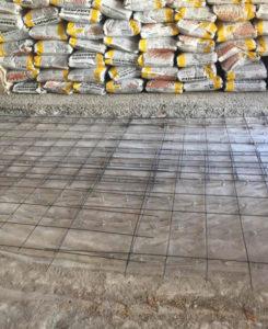 Impermeabilización, conectores y mallazo