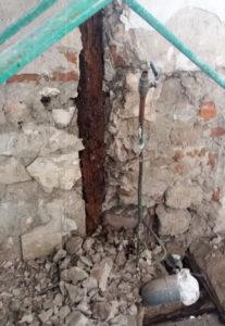 rehabilitación estructura de madera por madera