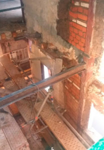 rehabitación estructura madera