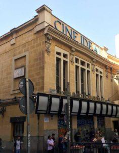 cine ideal fachada antes rehabilitacion umavial