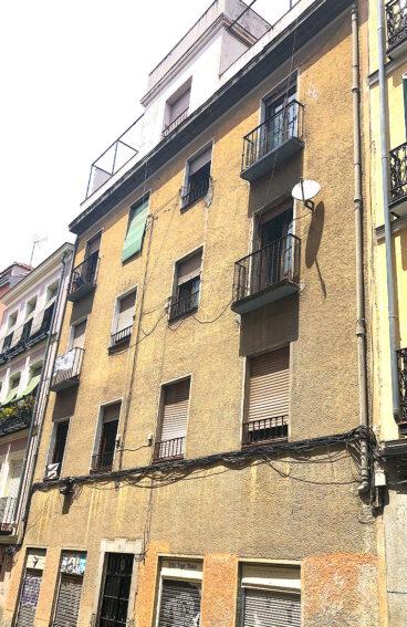 rehabilitación de edificio singular de Madrid