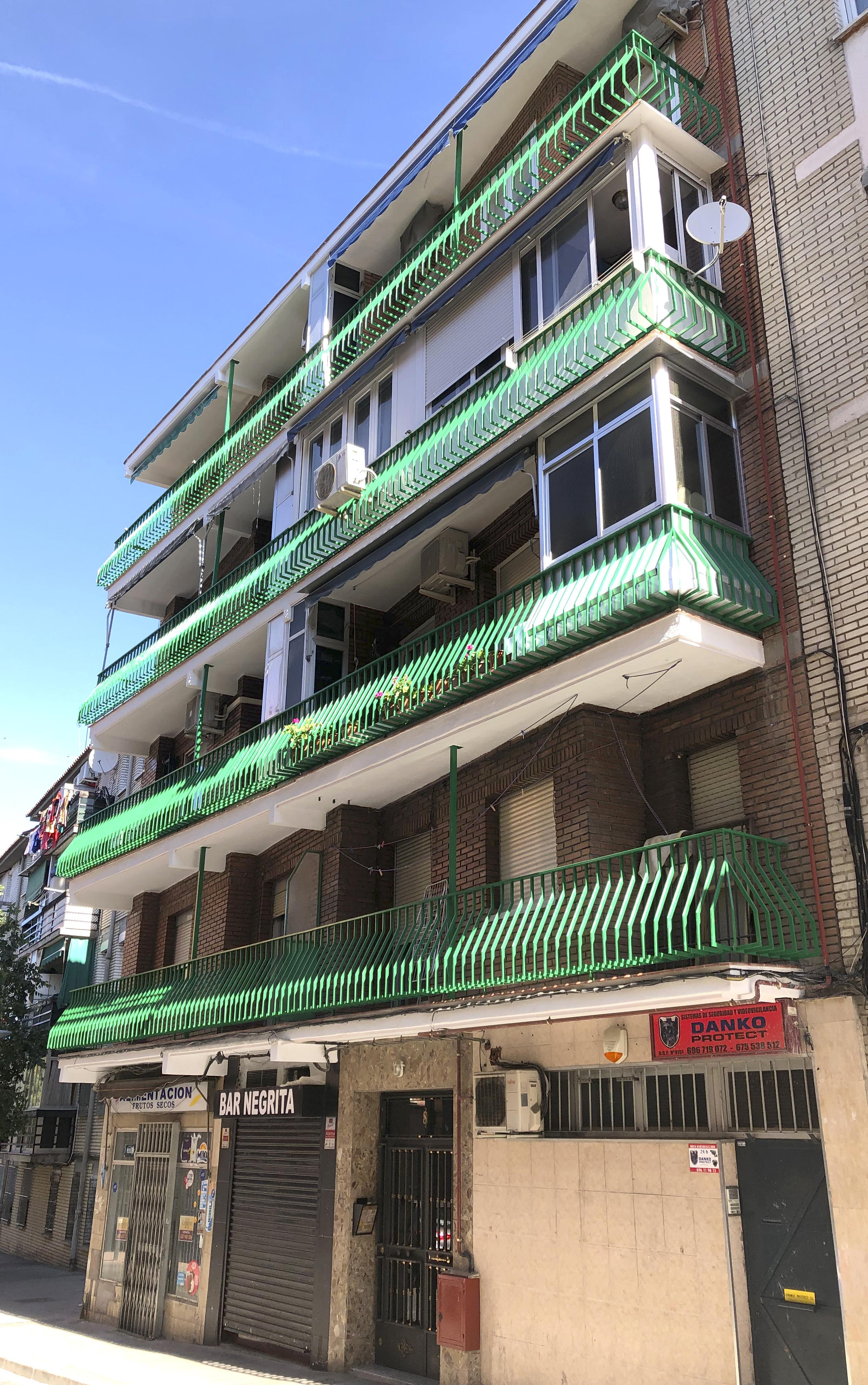 reparacion frentes de fachada